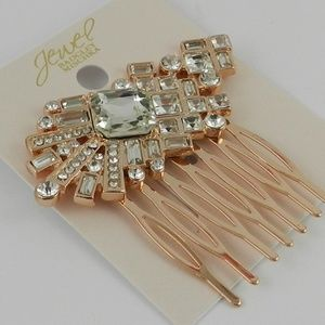 Jewel Badgley Mischka Crystal Hair Comb
